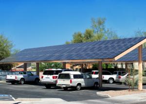 Solarcarport Leuchtturmprojekt: Deutschlands größte Photovoltaik-Anlage auf einem Carport