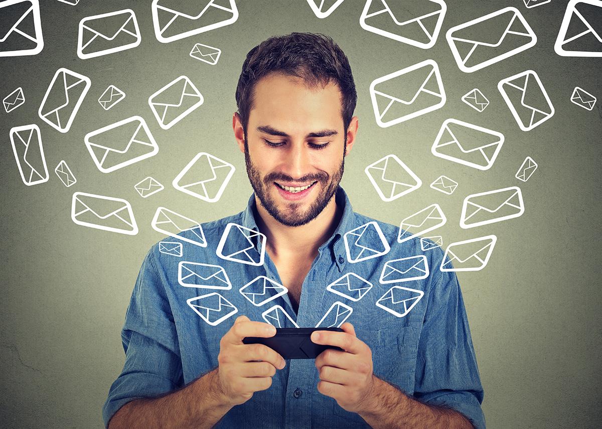Web send mailings