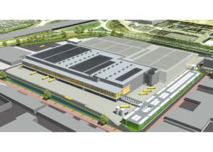 Automatisiertes Zentrallager: Automation der Frische-Logistikzentren