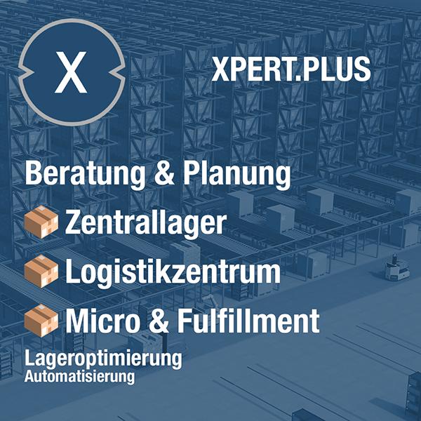 Xpert.Plus Lageroptimierung - Zentrallager, Logistikzentrum und das Micro-Fulfillment - weitere Lagerlösungen